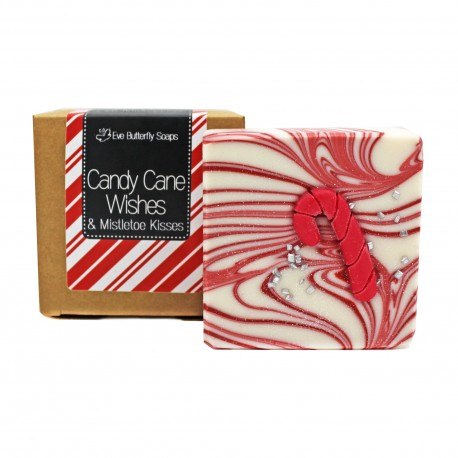 "XMAS Seife ""Candy Cane Wishes"""